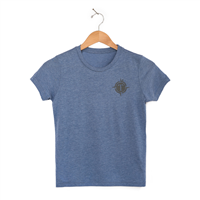 Youth Triblend Short Sleeve Tees - Heather Blue